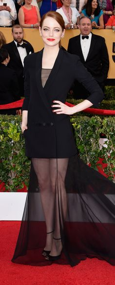 Was Emma Stone Best Dressed in Dior Haute Couture?!
