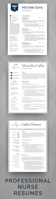 20 best Professional Resume Templates images on Pinterest ...