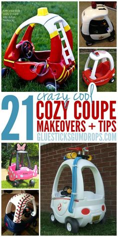 21 Cozy Coupe Makeovers and Redos Your Kids Will Go CRAZY For