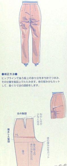 Diverse pantalonaanpassingen, interessant