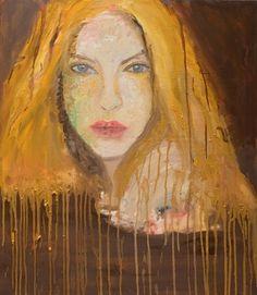"Saatchi Online Artist Tsvetan Radenkov; Painting, ""Woman "" #art"