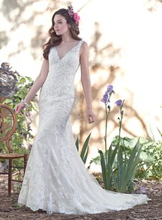 Maggie Sottero Geddes Size 16 $1,398 - Debra's Bridal Shop at The Avenues 9365 Philips Highway Jacksonville, FL 32256 (904) 519-9900