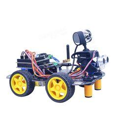 Xiao R STM32 duino Smart Robot Wifi Video Control Car Kit With PTZ Sale - Banggood.com Rc Robot, Smart Robot, Kit Cars, Wifi, Hobbies