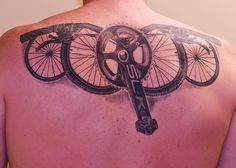 Eric Lawton, Middletown Delaware by Squirrels Cycling Tattoo Collection, via Flickr