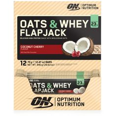 Optimum Nutrition Oats & Whey Flapjacks | Optimum Nutrition - Official Trade Sports Nutrition Distributor | Tropicana Wholesale
