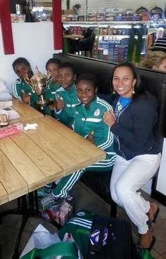 naijamilk.com: Photos: Ibinabo Fiberisima hangs out with winning ...