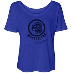 """3 Musketeers BFF's   The three musketeers are best friends forever! Customize this trendy, flowy tee for you and your besties! Shop the set here: <a href=""""/tag/three musketeers"""">Three Musketeers Tees</a>"""