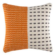 Alex Orange Square Cushion