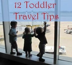 12 tips for traveling with toddlers or small children