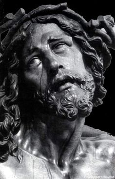 Cristo de La Agonía // Juan de Mesa Images Of Christ, Religious Images, Religious Art, Anima Christi, Lady Of Mount Carmel, Spiritus, Classic Paintings, Catholic Art, Jesus Cristo