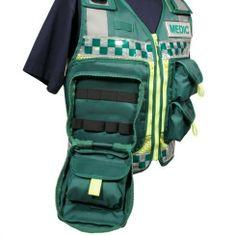 paramedic tools | ... Protec Green Medic Paramedic Ambulance Response equipment vest