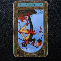 Reversed Fool: imminent danger unless the person it refers to pulls themselves together http://wp.me/p2pQ7I-22m