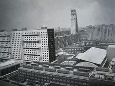 Conjunto Urbano Nonoalco Tlatelolco    Mexico City, Mexico.    1949 - 1964