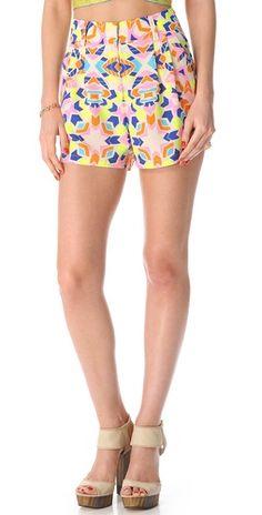 Mara Hoffman High Waisted Shorts | SHOPBOP