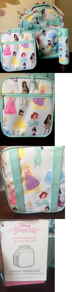Backpacks 57917 Disney Store Princess Backpack And Lunch Tote Set Pink Aurora Snow White BUY IT NOW ONLY 4999 On EBay