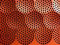 leManoosh/pattern speakers fuse project Embossed/Debossed stamped red texture Grid