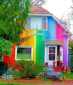 Colorful House Collection (10 pics) | See More Pictures