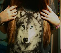 Inspiring image clothes, cool, fashion, girl, style, tshirt, wolf #440366 - Resolution 500x333px - Find the image to your taste