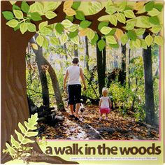 Spellbinders Paper Arts - Idea Gallery - View Project - A Walk In The Woods
