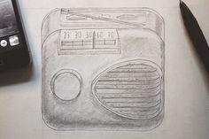 radio broadcast Sketch