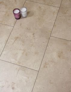 Brown Tile Laminate Floor That Looks And Feels Like A Real Tile Floor