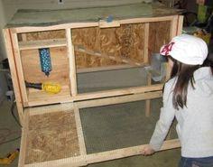 Rabbit Hutch Plans: How to build a rabbit hutch