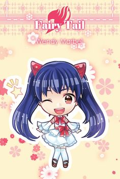 Anime/manga: Fairy Tail Character: Wendy