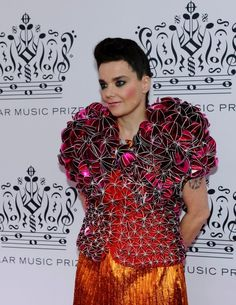 Björk at the 2010 Polar Music Prize. Design: Bea Szenfeld