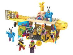 Beatles Yellow Submarine Building Set.Beatles plus Lego = awesome Beatles Party, Beatles Songs, The Beatles, Beatles Poster, Holiday Gift Guide, Holiday Gifts, Kids Sites, The Fab Four, Yellow Submarine