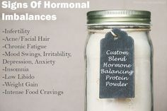 Hmmm ... a potential DIY protein powder mix to help balance hormones. Those of us in menopause would love to find that magical balance!