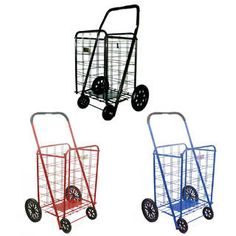 Shop for Extra Large Heavy-duty Shopping Cart. Free Shipping on orders over $45 at Overstock.com - Your Online Kitchen