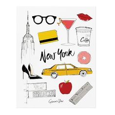 Rifle Paper Co. Poster - Garance Dore New York #westelm