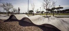 Scob_Skate Park de La Mar Bella, Barcelona, Espanha