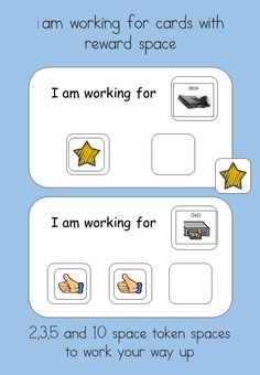 Reward system - for students with Autism  Visual Reinforcement for students with Autism.   A powerful method of strengthening new skills and behaviours, The tokens are a way of �paying� children for completing tasks and then they can be used to trade for