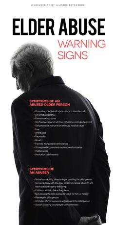 Elder Abuse: Warning Signs Caregivers Tips & Tools Kat Morris Realtor Your Property Matters LLC