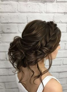 Hairstyle Inspiration - Elstile Featured Hairstyle: Elstile Wedding Hairstyles and Makeup;Featured Hairstyle: Elstile Wedding Hairstyles and Makeup; Wedding Hairstyles Half Up Half Down, Wedding Hairstyles With Veil, Homecoming Hairstyles, Brunette Wedding Hairstyles, Bridal Hairstyle, Hairstyles 2018, Bridal Hair With Veil Updo, Hairstyle Ideas, Hairstyles Pictures