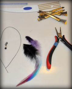 DIY Feather Hair Extensions - NO Special Tools Required! Shipwreck Beads