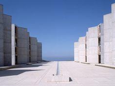 Le béton en architecture / Salk Institute for Biological Studies, La Jolla, Californie, États-Unis, 1965, Louis I. Kahn © Corbis images