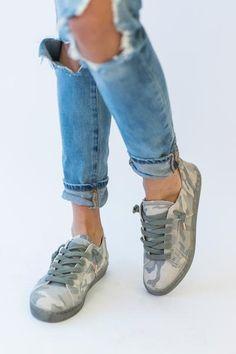 Zalen Sneaker - Camo