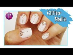 ▶ Glitter Prom Nails - HannahRoxNails - YouTube  Can do in any color that fits the prom dress