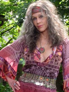 Hippie mature women