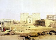 philae temple amun night - Google Search