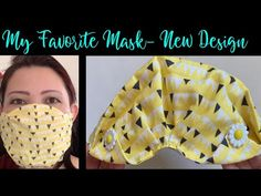 Easy Face Masks, Homemade Face Masks, Diy Face Mask, Burlap Bow Tutorial, Small Sewing Projects, Easy Youtube, 3d Face, Pocket Pattern, Diy Mask