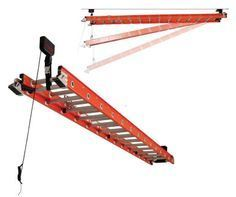 Racor Ladder Ceiling Hoist - Ceiling Storage - The Garage Store