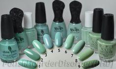 Tiffany Blue comparisons  | followpics.co