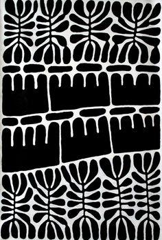 print inspiration beautiful design pattern black and white block print art Graphic Patterns, White Patterns, Print Patterns, Graphic Design, Animal Patterns, Print Design, Motifs Textiles, Textile Patterns, Surface Pattern Design