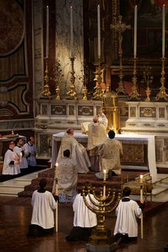the Sacra Liturgia Mass Celebrated by Archbishop Cordileone