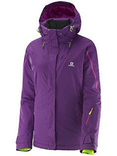 d2b11b4f2d Salomon Womens Supernova Jacket Cosmic Purple Medium -- Continue to the  product at the image