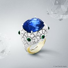 #VanCleef High Jewelry collection Pierres de Caractère Variations