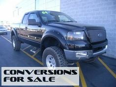 2004 Ford F-150 4WD SuperCab Lariat Lifted Truck
